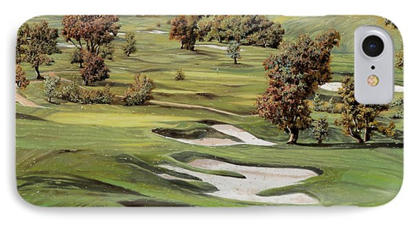 Cordevalle Golf Course IPhone 7 Case by Guido Borelli
