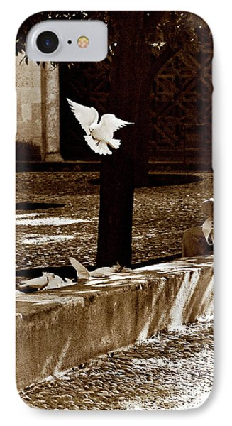 IPhone Case featuring the photograph Cordoba Flight by Lorraine Devon Wilke