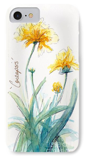 Coreopsis Phone Case by CheyAnne Sexton