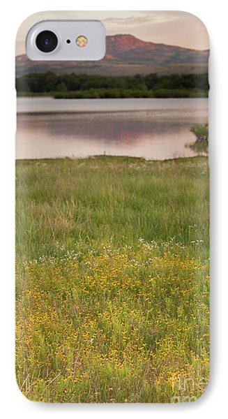 Corepsis Blooming At The Quanah Parker Lake Phone Case by Iris Greenwell