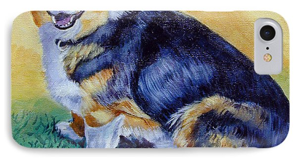 Corgi Mix Cooper IPhone Case