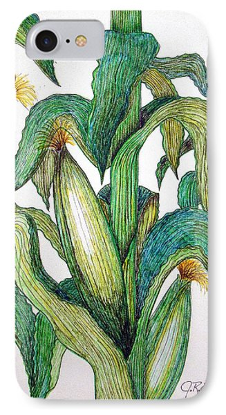 Corn And Stalk IPhone Case