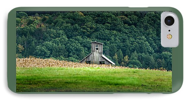 Corn Field Silo IPhone Case by Marvin Spates