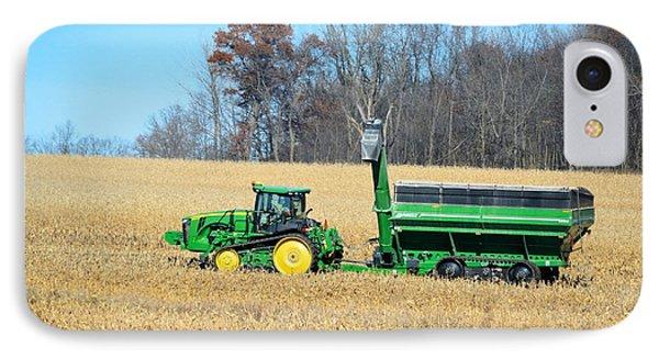 Corn Harvest IPhone Case by Bonfire Photography