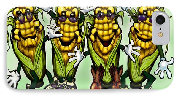Corn Party Phone Case by Kevin Middleton