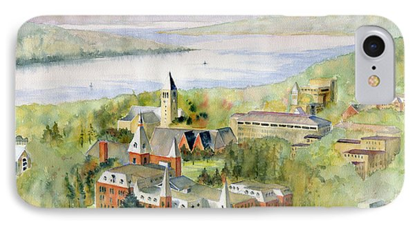 Cornell University IPhone Case by Melly Terpening