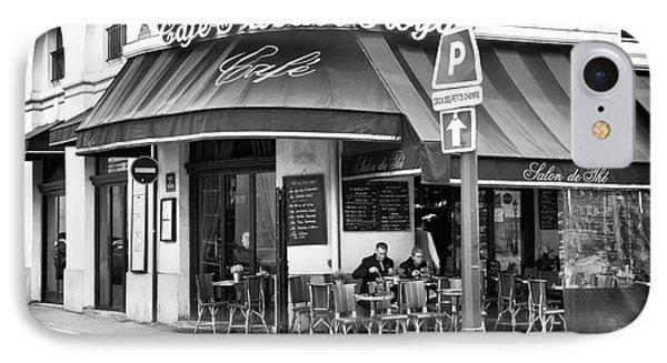 Corner Cafe Phone Case by John Rizzuto