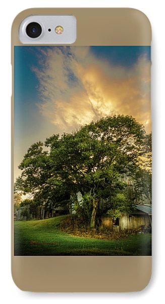 Corner Oak IPhone Case by Marvin Spates