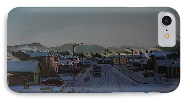Corner Of 157th St. And 168th Ave. Phone Case by Thu Nguyen