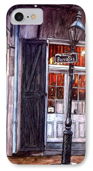 Corner Of Barracks Street IPhone Case