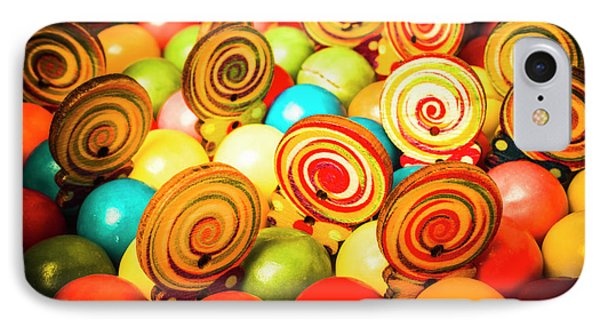 Corner Store Candies  IPhone Case by Jorgo Photography - Wall Art Gallery