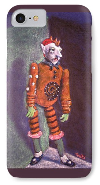 Cornered Marionette Strings Not Included Phone Case by Dennis Tawes
