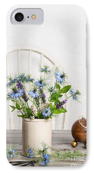 Cornflowers IPhone Case by Amanda Elwell