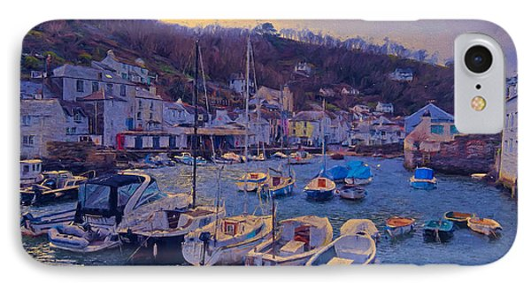 Cornish Fishing Village IPhone Case by Paul Gulliver