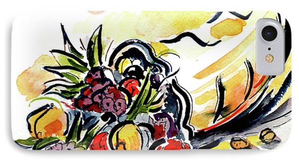 IPhone Case featuring the painting Cornucopia by Terry Banderas