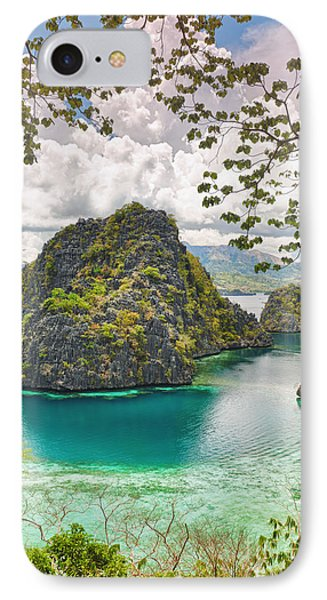 Coron Lagoon IPhone Case by MotHaiBaPhoto Prints
