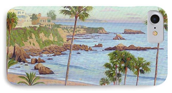 Corona Del Mar Vista IPhone Case by Steve Simon