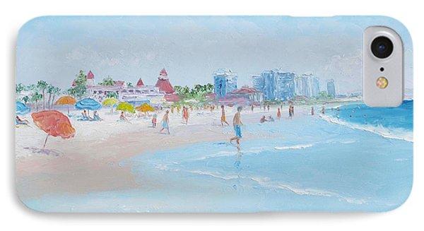 Coronado Beach San Diego IPhone Case by Jan Matson