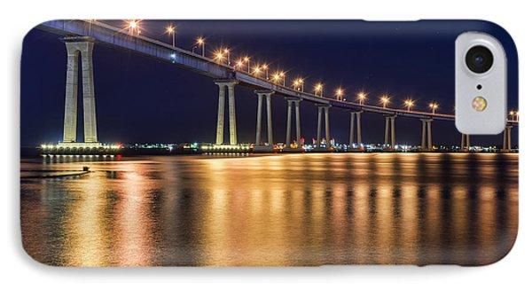 Coronado Bridge IPhone Case by Eddie Yerkish