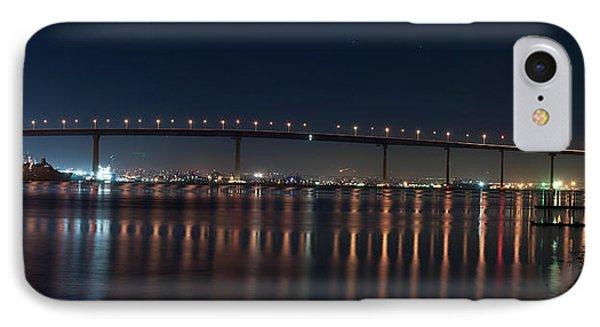 Coronado Bridge San Diego IPhone Case by Gandz Photography