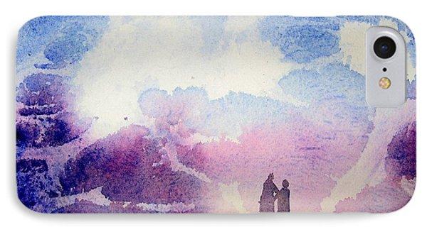 Coronado Island Wedding IPhone Case by Anne Duke