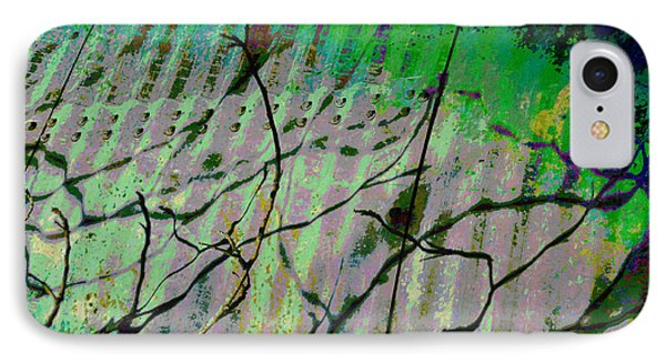 Corregated Shadows Phone Case by Jan Amiss Photography