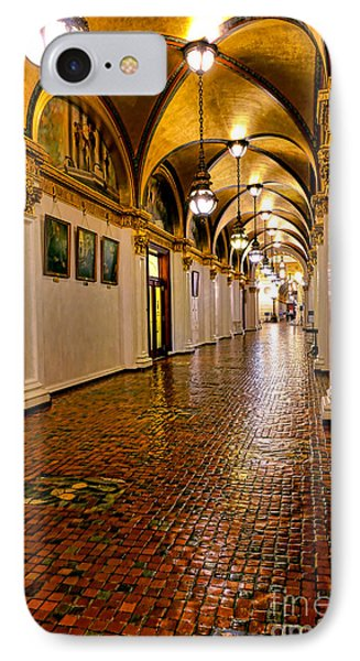 Corridor Of Power In Harrisburg IPhone Case