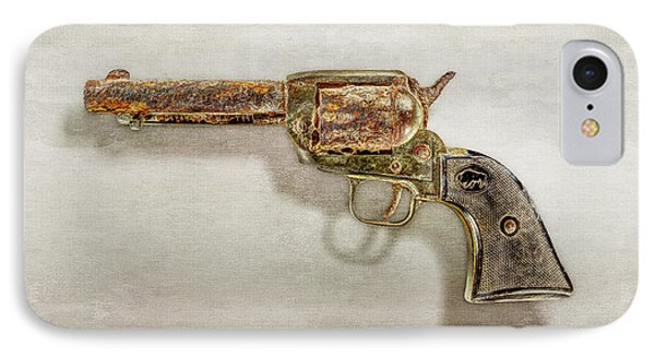 IPhone Case featuring the photograph Corroded Peacemaker by YoPedro