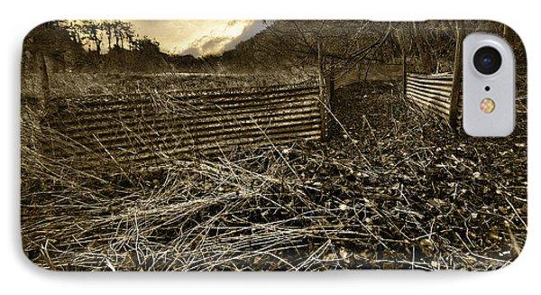 Corrugated Tin Pen Phone Case by Meirion Matthias