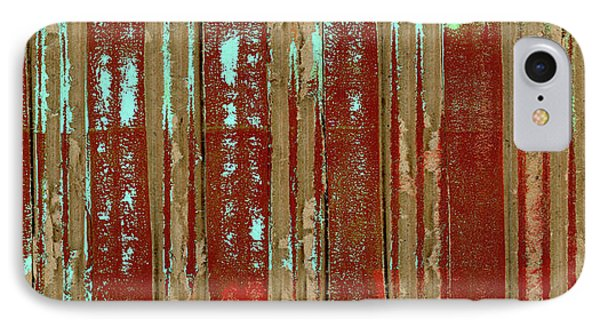 Corrugation IPhone Case by Carol Leigh