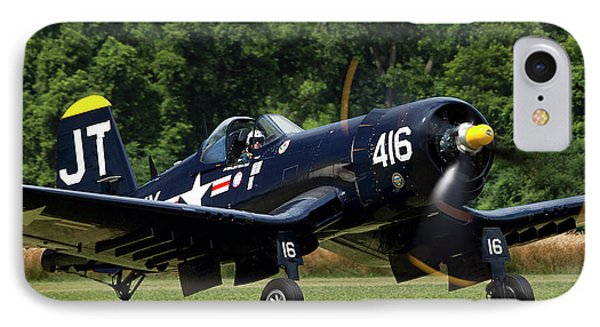IPhone Case featuring the photograph Corsair Close-up by Peter Chilelli