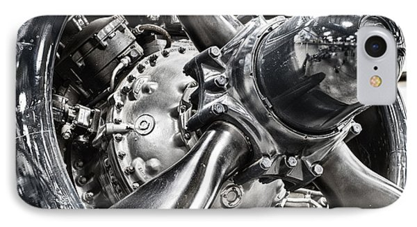 Corsair F4u Engine IPhone Case by Bryan Keil