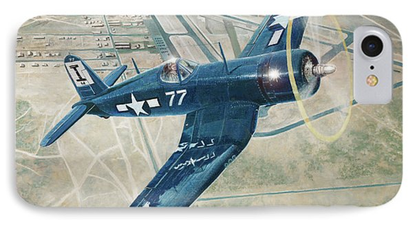 Corsair Over Mojave IPhone Case