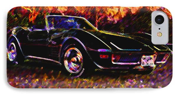 Corvette Beauty IPhone Case by Stephen Anderson