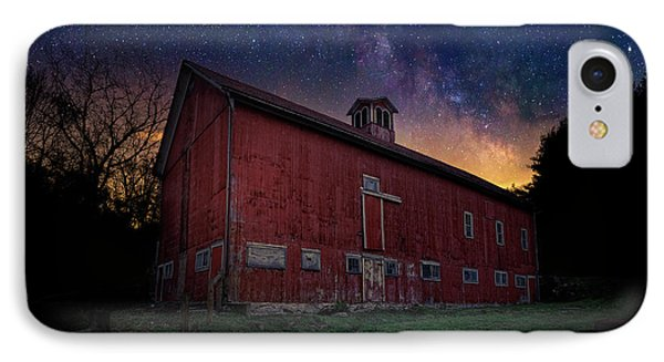 IPhone Case featuring the photograph Cosmic Barn by Bill Wakeley