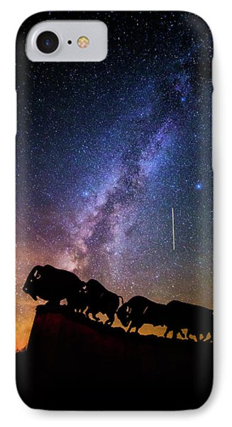 IPhone Case featuring the photograph Cosmic Caprock by Stephen Stookey