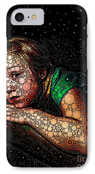 Cosmic Dust Phone Case by Ron Bissett
