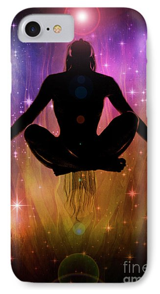 IPhone Case featuring the photograph Cosmic Enlightenment... by Nina Stavlund