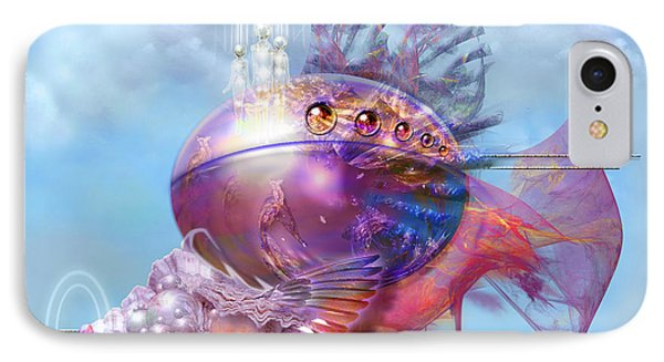 Cosmic Fish Spaceship IPhone Case