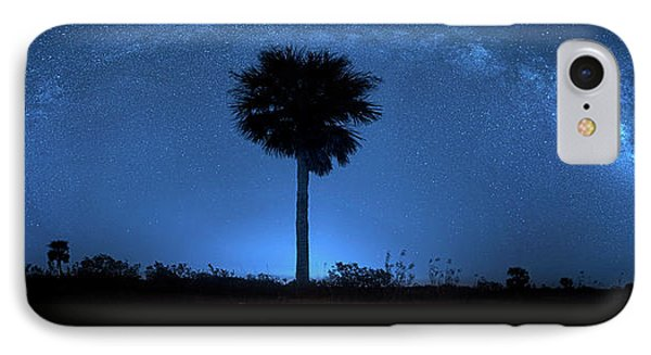 IPhone Case featuring the photograph Cosmic Night by Mark Andrew Thomas