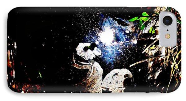 Cosmic Ponderment IPhone Case by SeVen Sumet