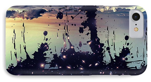 IPhone Case featuring the photograph Cosmic Resoance No 3 by Robert G Kernodle