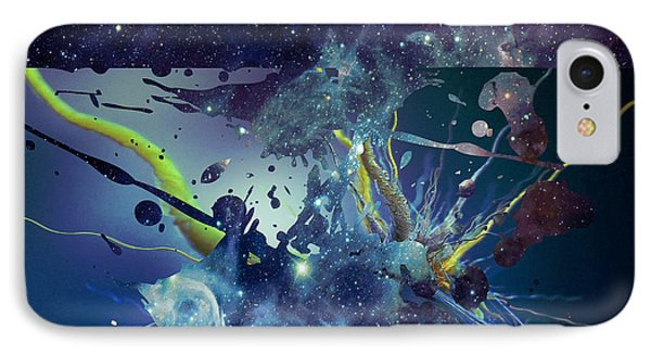 IPhone Case featuring the photograph Cosmic Resonance No 1 by Robert G Kernodle