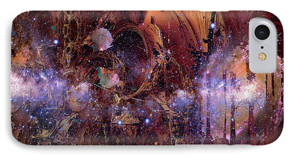 IPhone Case featuring the photograph Cosmic Resonance No 2 by Robert G Kernodle