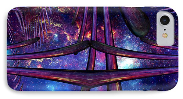 IPhone Case featuring the photograph Cosmic Resonance No 7 by Robert G Kernodle