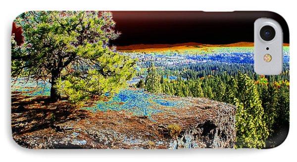 Cosmic Spokane Rimrock IPhone Case by Ben Upham III