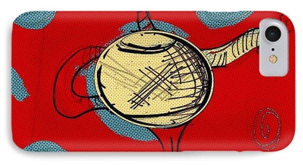 Cosmic Tea Time IPhone Case