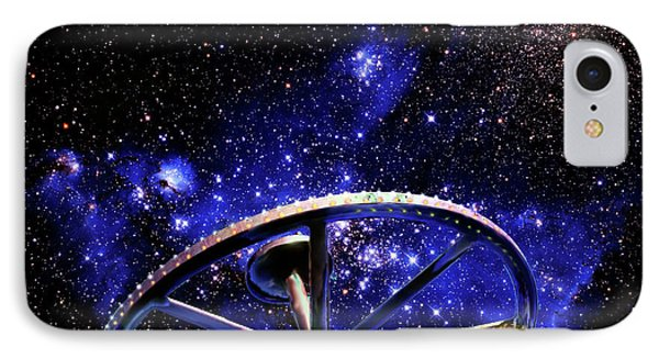 IPhone Case featuring the photograph Cosmic Wheel by Jim and Emily Bush