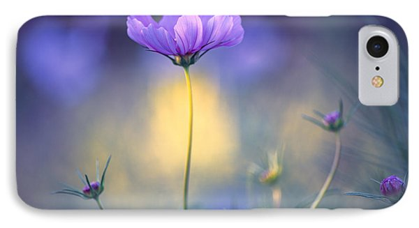 Cosmos Pose IPhone Case by John Rivera