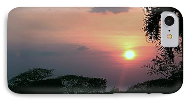 IPhone Case featuring the photograph Costa Rican Sundown by Ellen O'Reilly